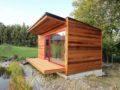 Sauna v zahradě, zdroj: saunasystem.cz