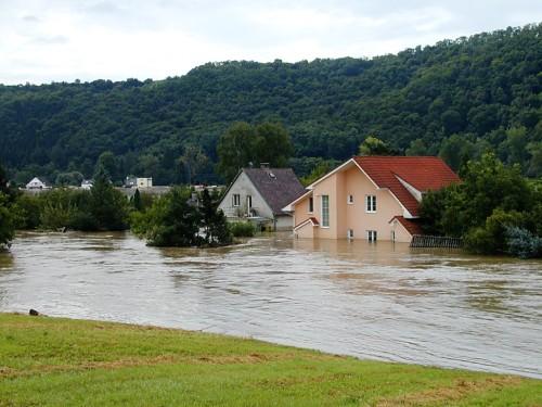Povodeň může poškodit nejen váš dům, ale i zahradu, zdroj: wikipedia.org